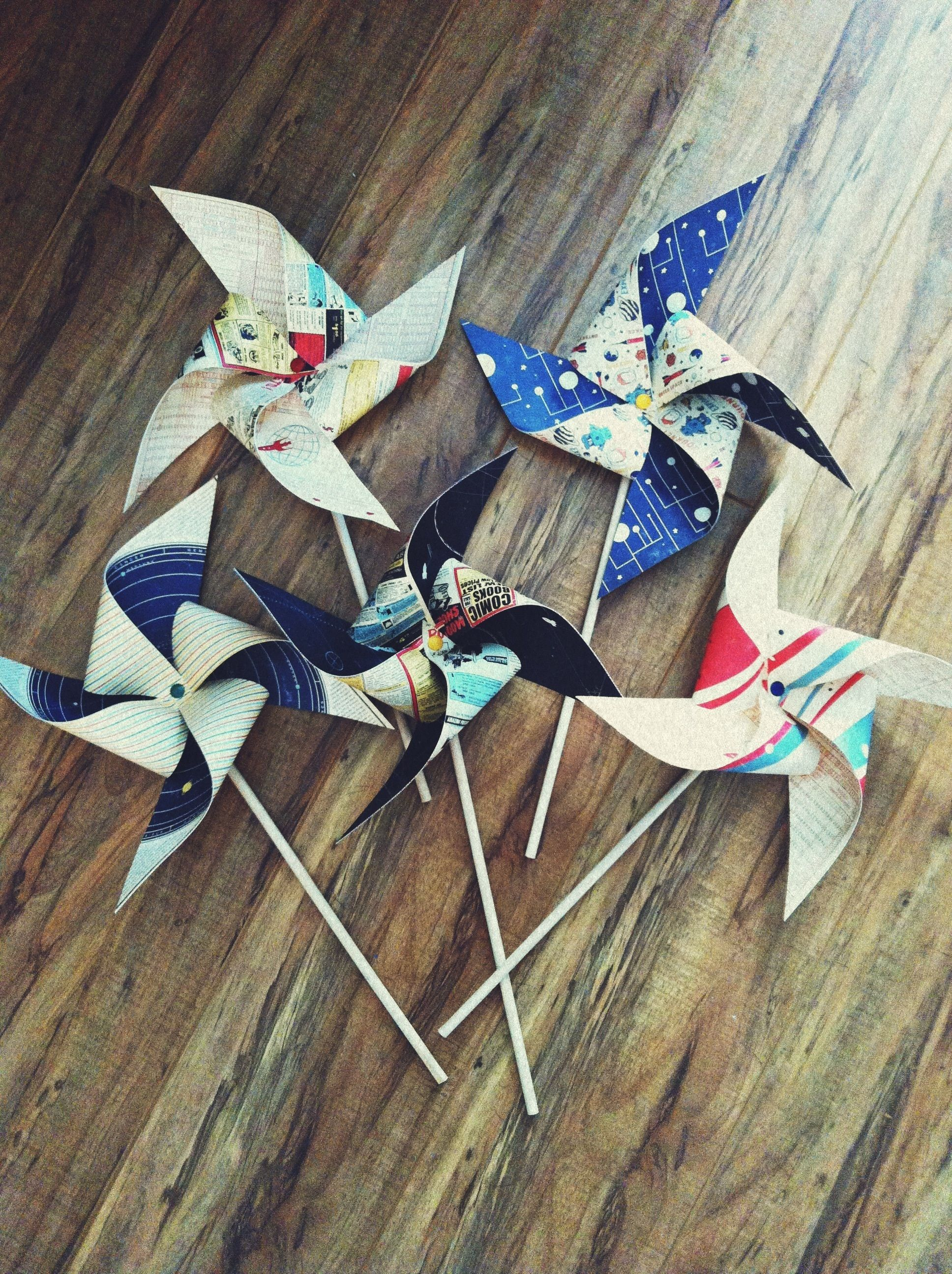 Pinwheel DIY | CRAFTS | Pinterest