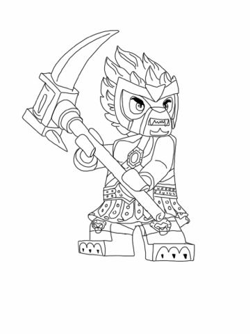 Lego Chima Coloring Page | Birthday party ideas | Pinterest | Lego ...