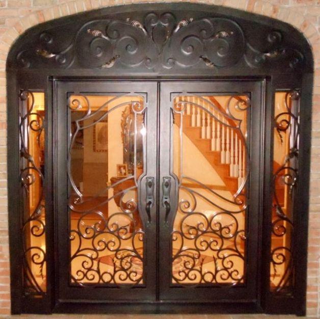 A 144 Doors By Design Iron Doors Wrought Iron Doors Double Doors