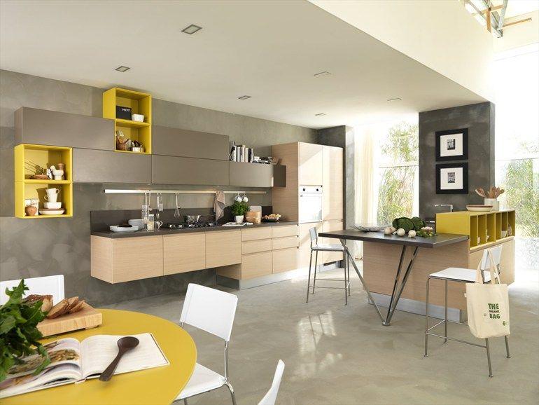 Youthful kitchen LINDA by Cucine Lube | Kitchens | Design ...