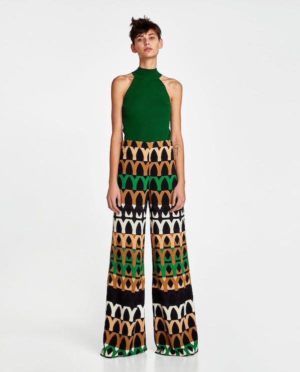 Los mejores outfits para Primavera Verano 2018 Zara verde