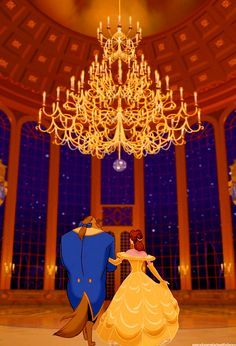 Belle And Beast Entering The Ballroom I Guess I M Recomposing