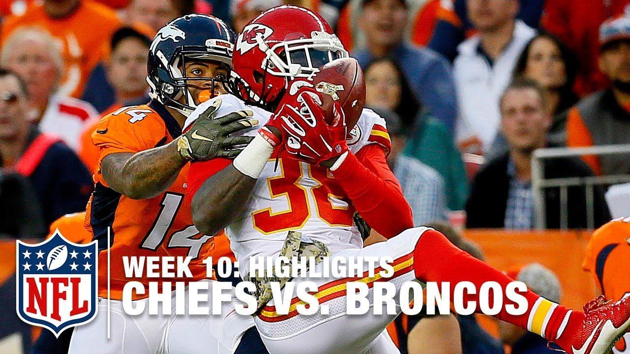 Chiefs Vs Broncos Week 10 Full Game Nfl