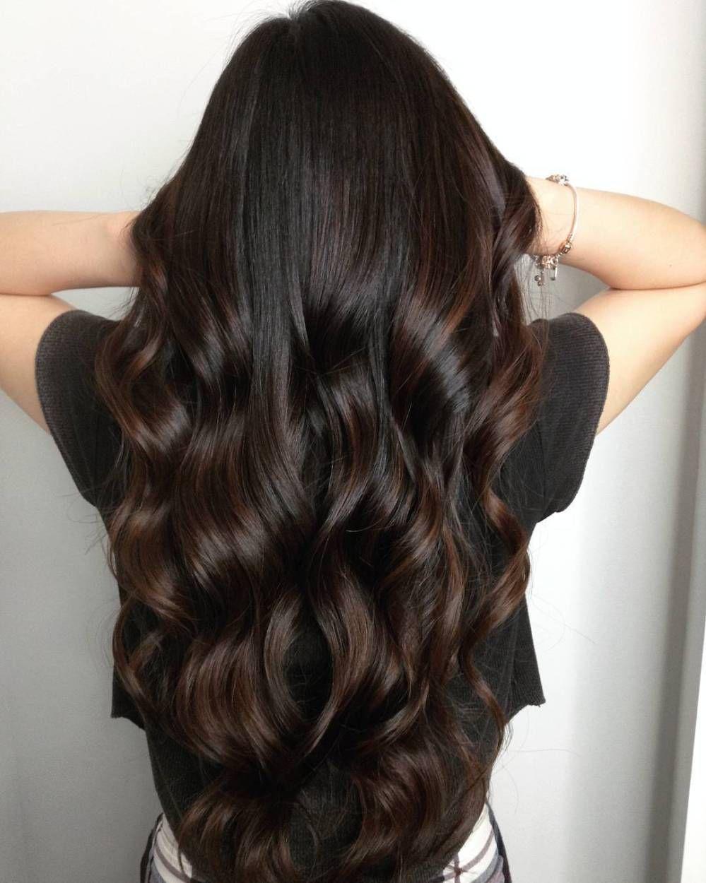 Dark Chocolate Hair A Mix Of Honey Mocha And Violet Brown Hair Dye Mocha Brown Hair Mocha Hair