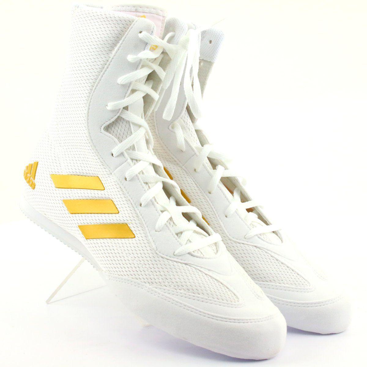 Buty Bokserskie Adidas Box Hog Plus Biale Adidas Sneakers Adidas Superstar Sneaker Sport Shoes