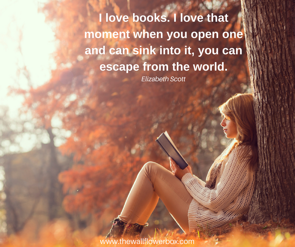 Introverts, do escape into books?