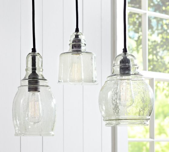 Paxton Glass Single Pendants Kitchen Pendant Lighting