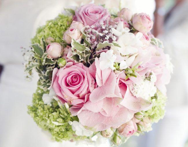 Basteln Echte Blumen Blumenkugel Steckschwamm