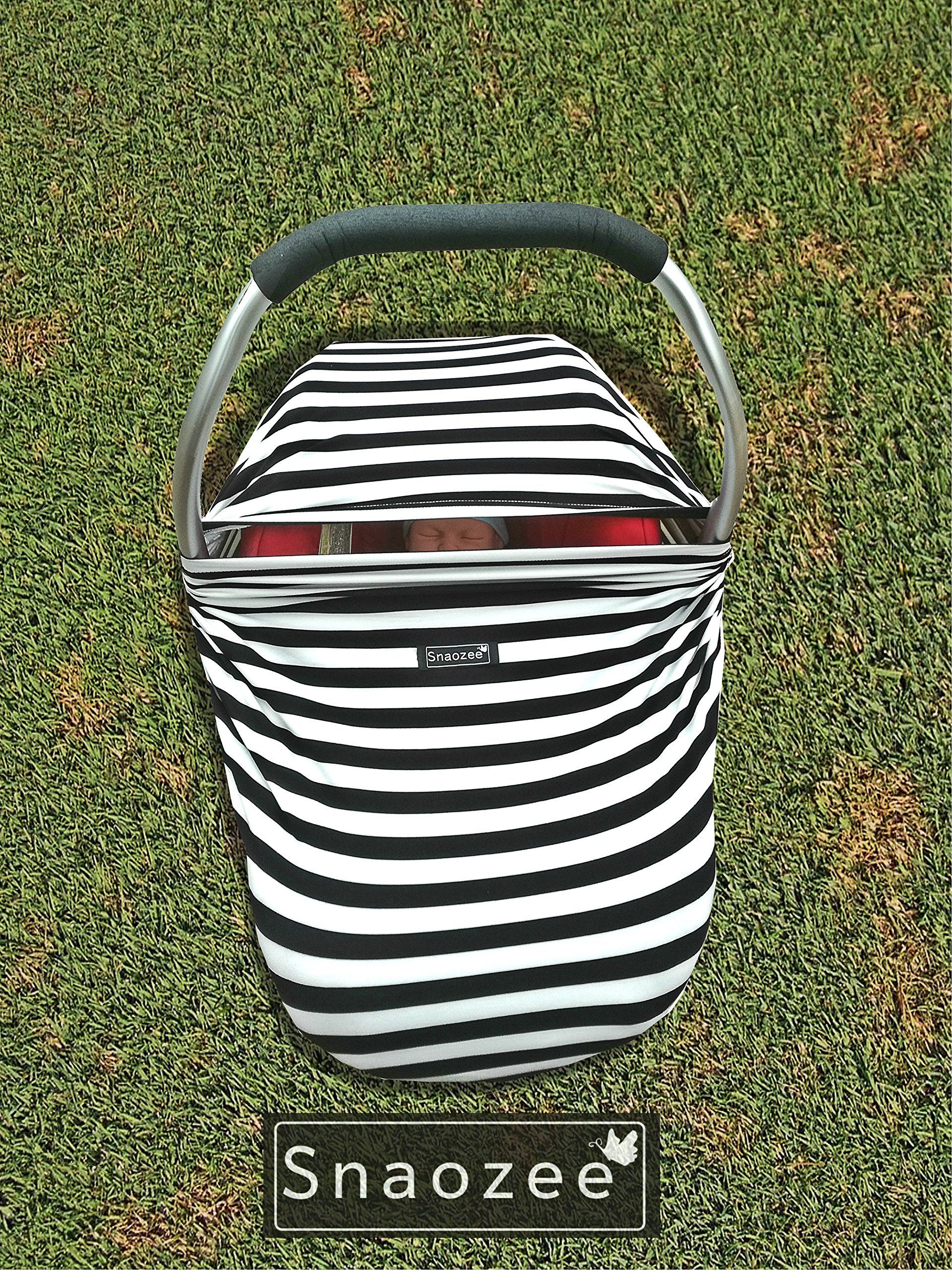Snaozee Multiuse Nursing Cover and Baby Car Seat Canopy
