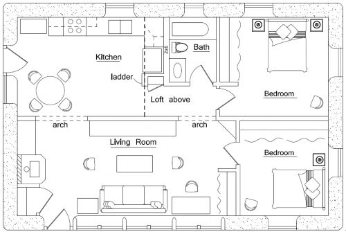 Small Double Wide Mobile Home Floor Plans httpmodtopiastudio