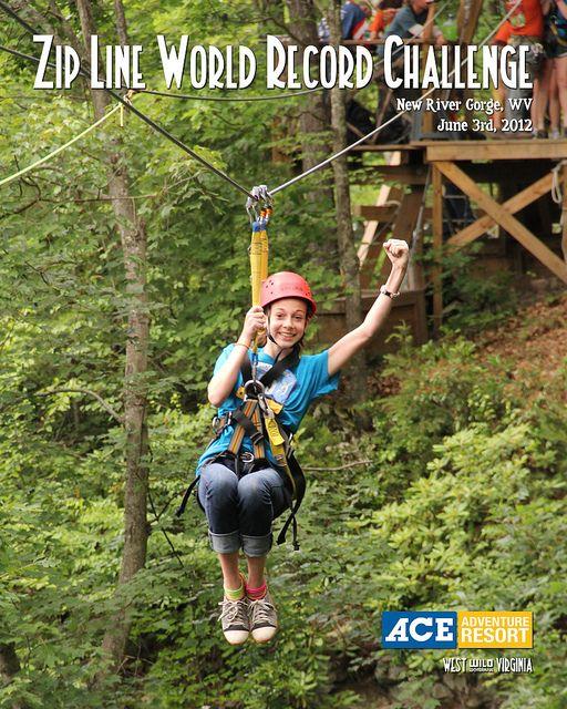 Zip Line World Record Holder Ace Adventure Resort 2012 Ace Adventure Resort Ziplining World Records