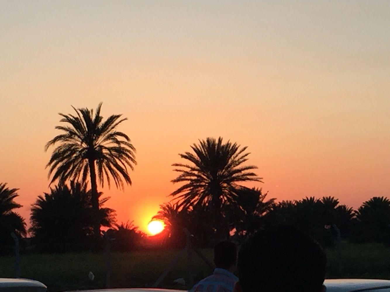 غروب الشمس في بلادي Sunset Celestial Outdoor