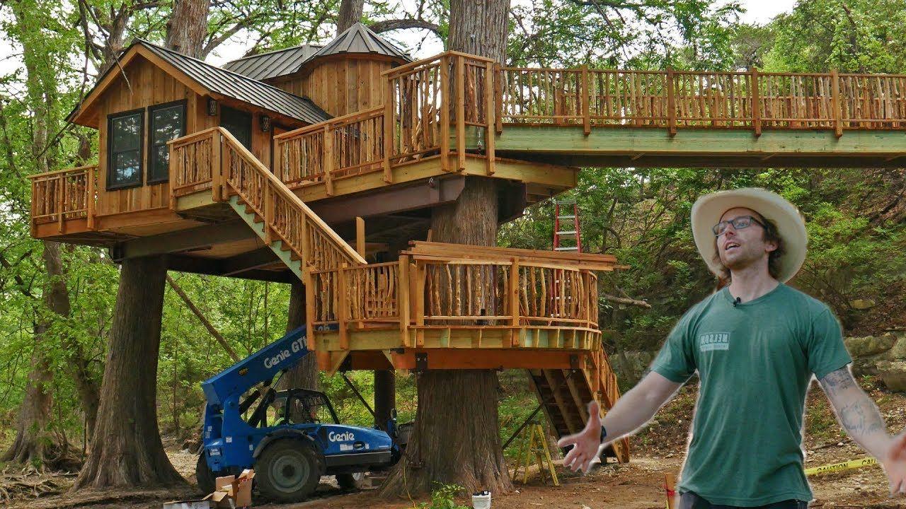 Treehouse Utopia Romantic Texas Treehouse Retreat Tree