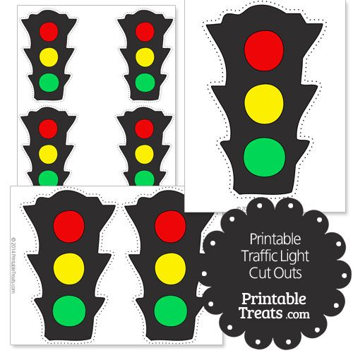 image relating to Traffic Light Printable titled Printable Site visitors Mild Lower Outs Fingerplays Targeted visitors