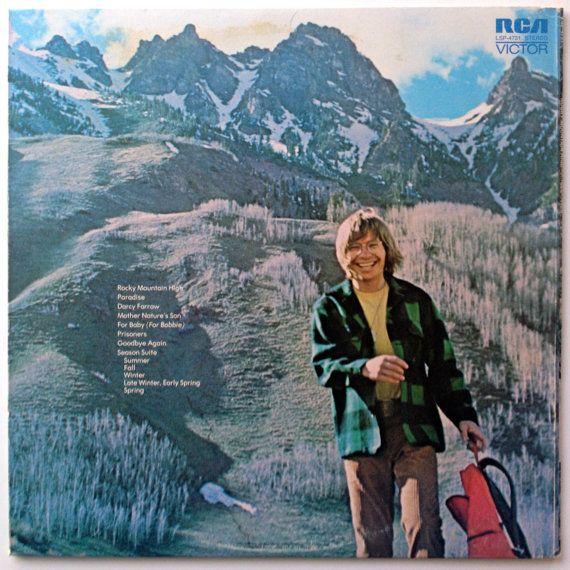 Rocky Mountain High LP Vinyl Record Album