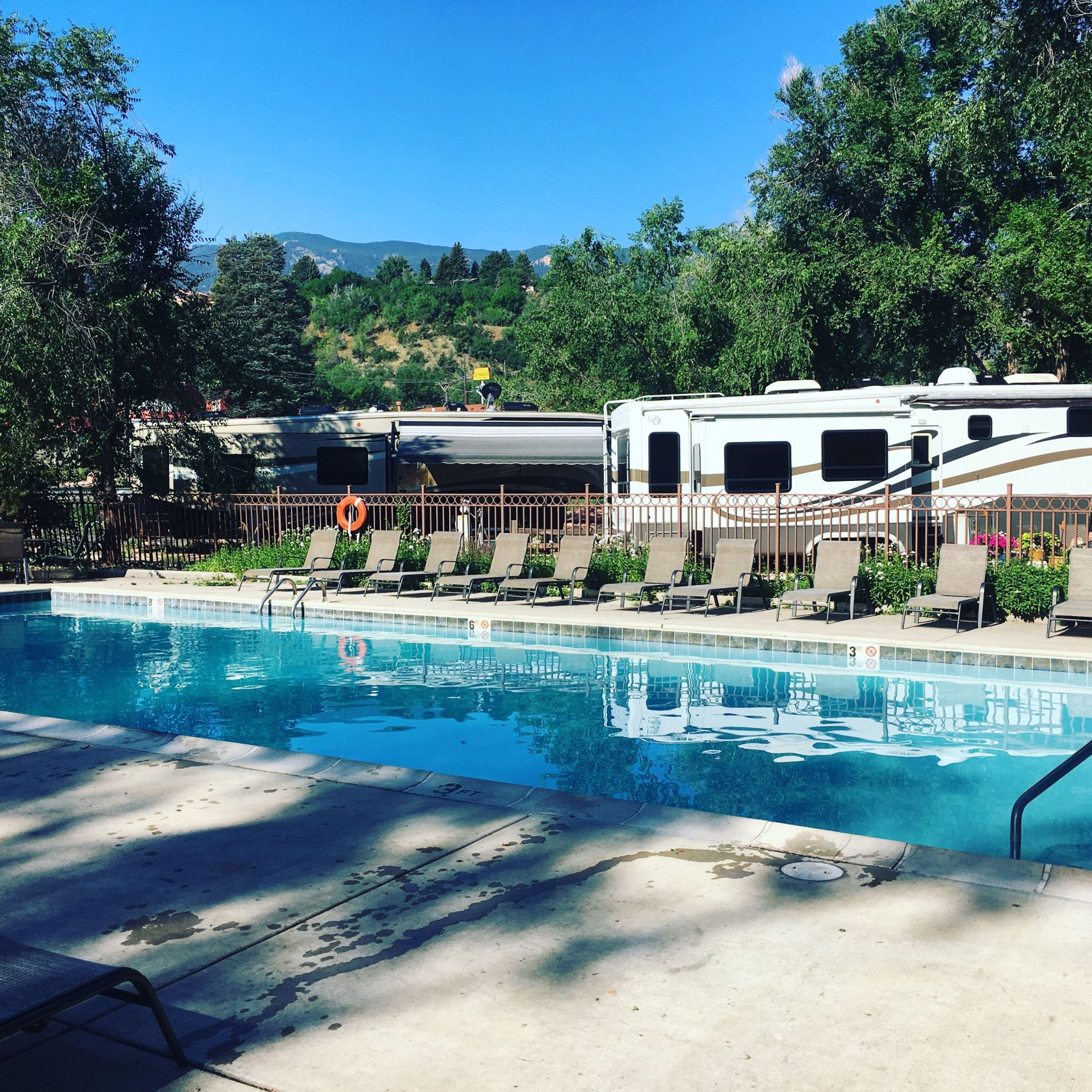 Garden Of The Gods Rv Resort With Images Resort Rv Life Colorado