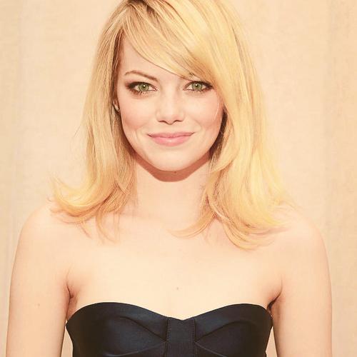 Y Emma Stone Medium Length Hair Styles Womens Hairstyles Medium Hair Styles