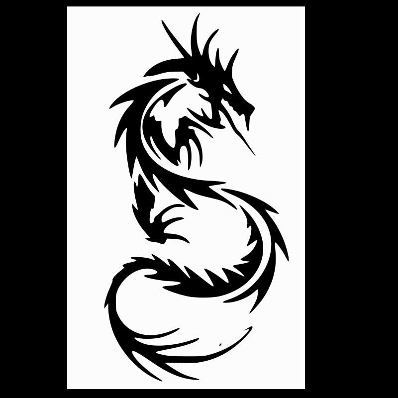 Free Dragon Silhouette, Download Free Clip Art, Free Clip