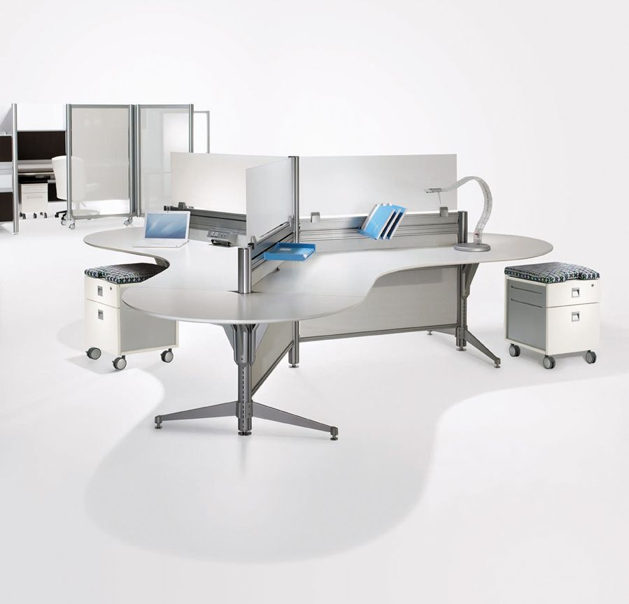 New Tayco Up Collaborative Workstations Office Interior Design
