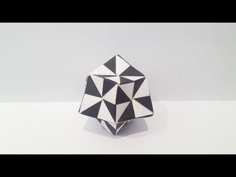 Photo of Origami Polyhderon Tutorial (How to fold)