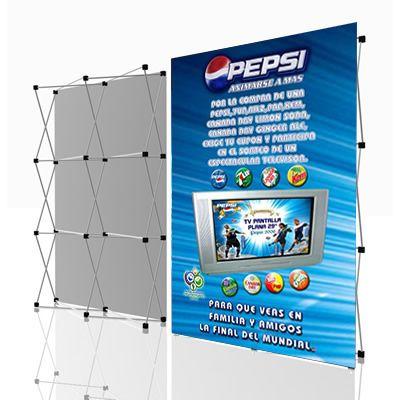 Multi Módulo Mini Pop Up Pendones Publicitarios Disenos De Unas Distribución Del Baño