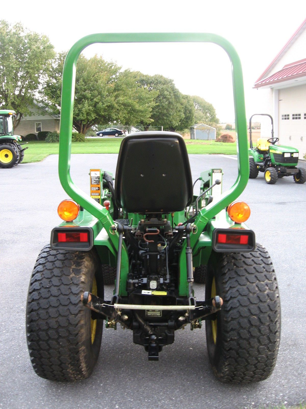 John Deere 855 Diesel 412 Hrs 4x4 Hydro Loader Compact