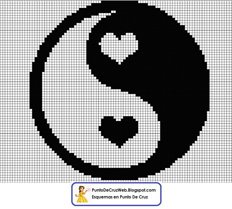 Peace Love Punto De Cruz. www.puntodecruzweb.blogspot.com | Crafts ...