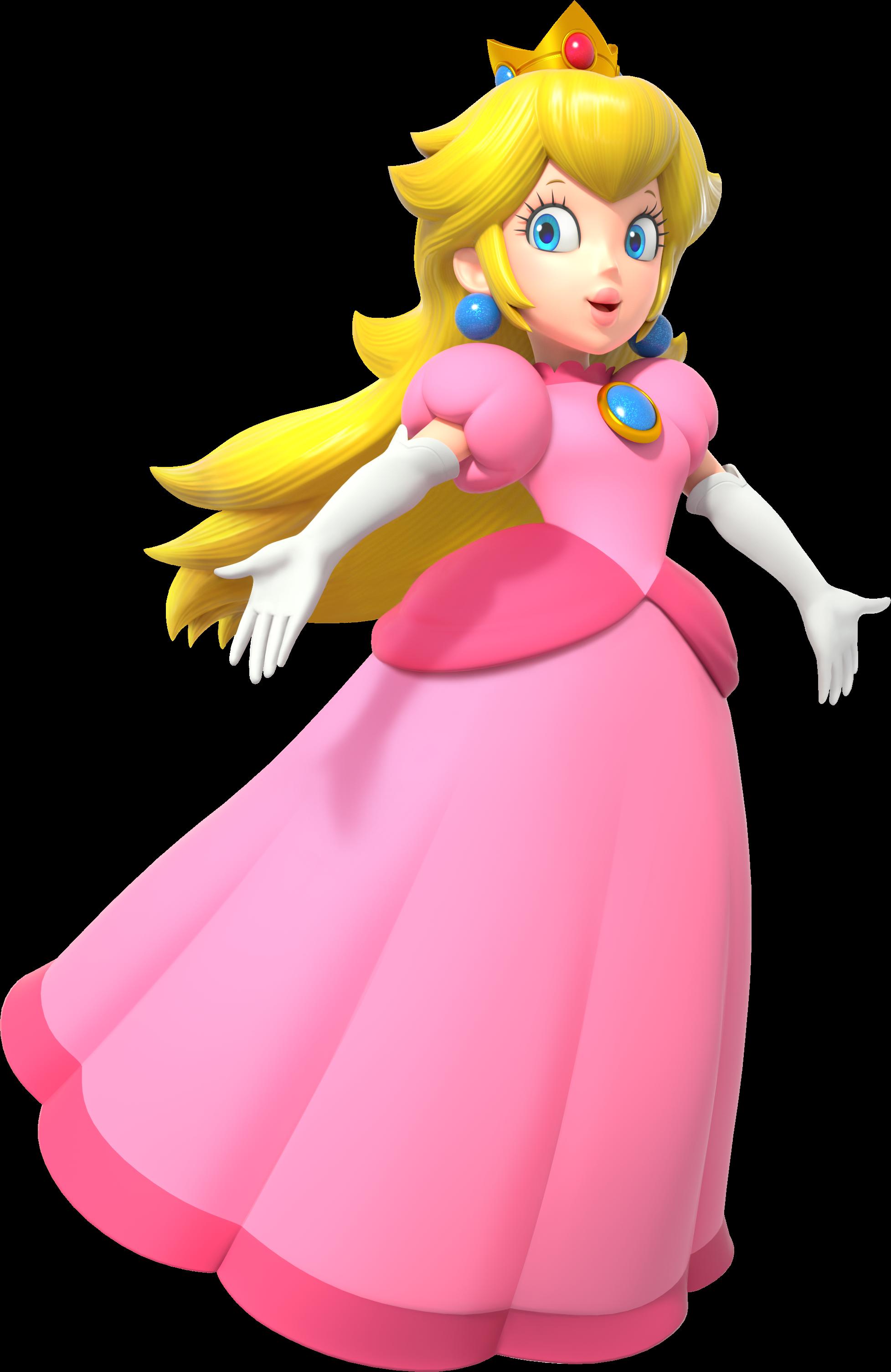 Top 10 Mario Characters - Princess Peach
