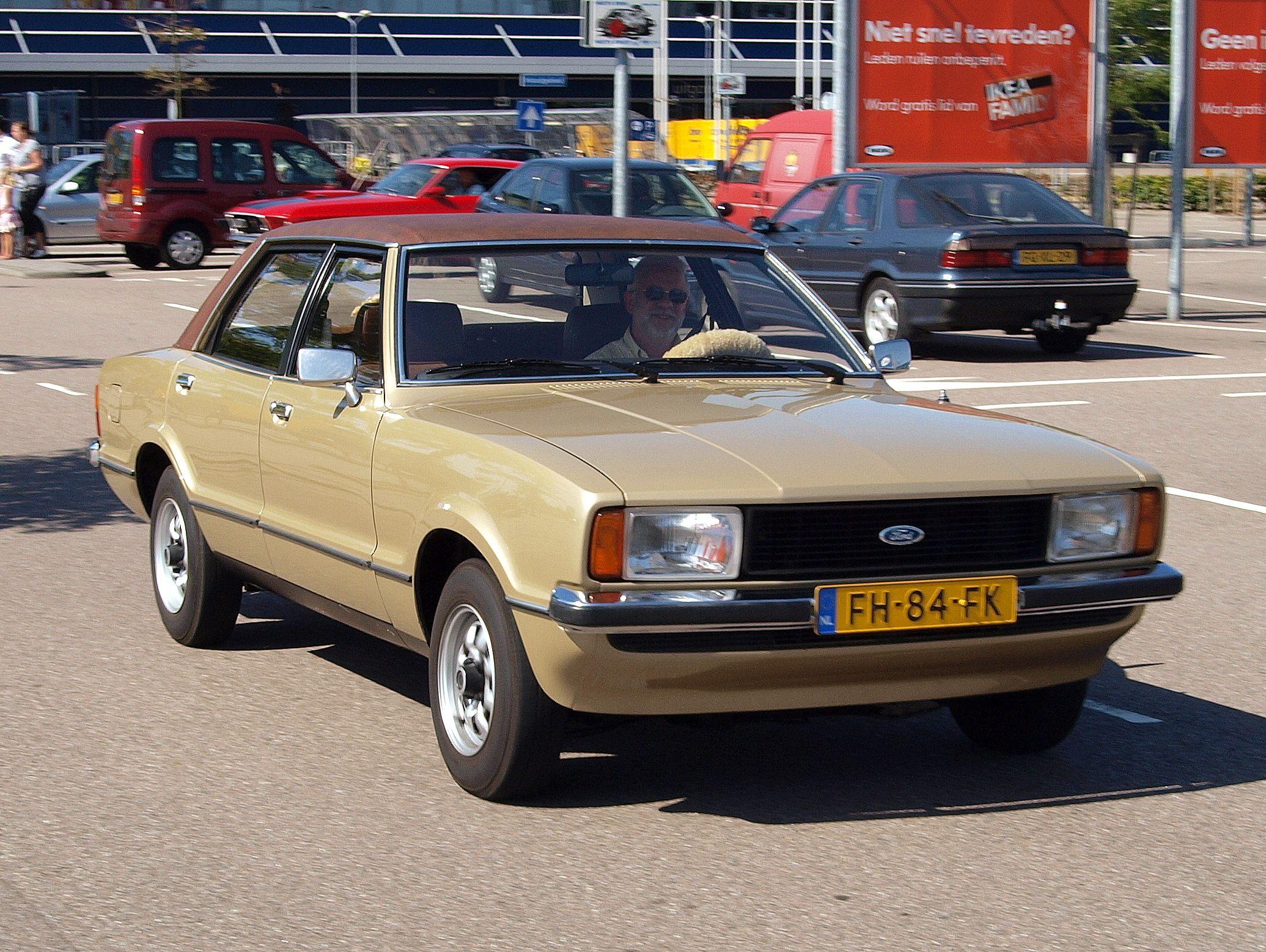 1976 1979 ford taunus tc2 1600 gl 4 door