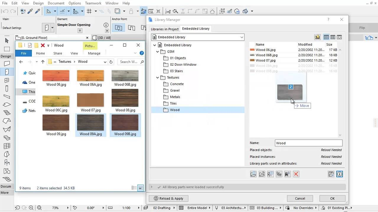 ARCHICAD 20 Library Manager Manage Library Content | ArchiCAD