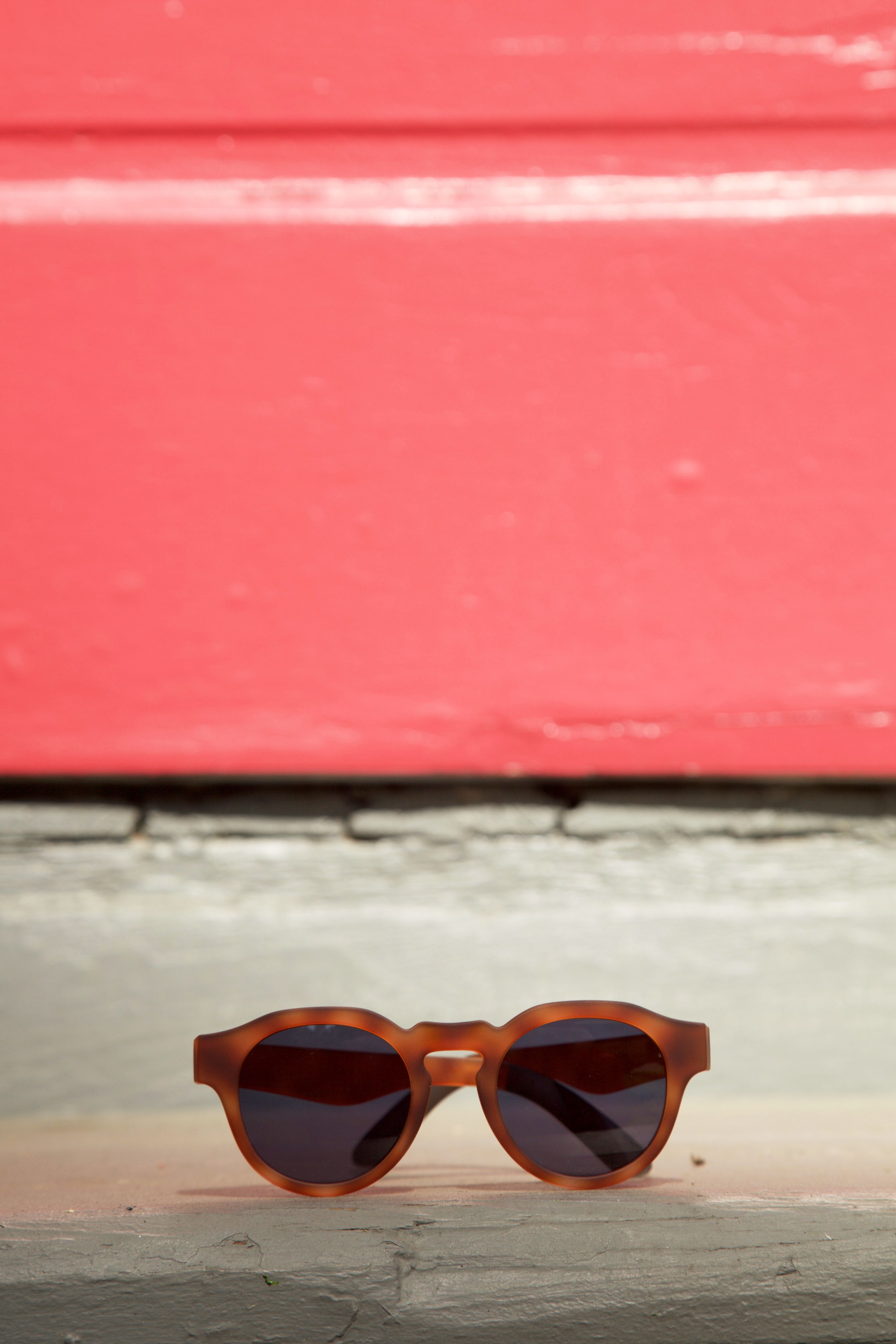 48b9f7fff1 A flexible frame for an active lifestyle. Shop TRAVELER by TOMS Bryton Matte  Honey Tortoise Sunglasses.