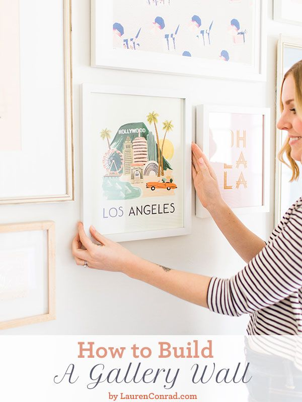 Home Makeover: How to Build a Gallery Wall | The old, Just love ...