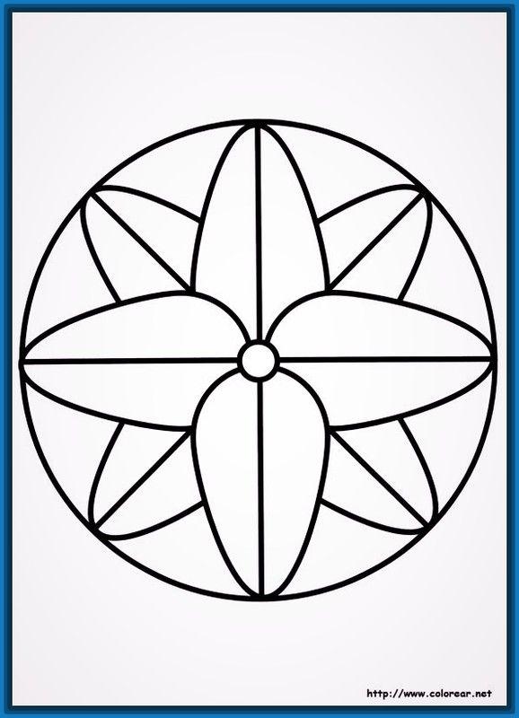 Mandalas faciles para hacer | Artesanato | Pinterest | Mandalas ...