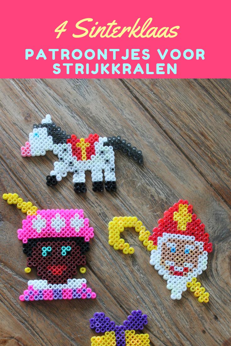 4 leuke Sinterklaas strijkkralen patroontjes #themasinterklaas