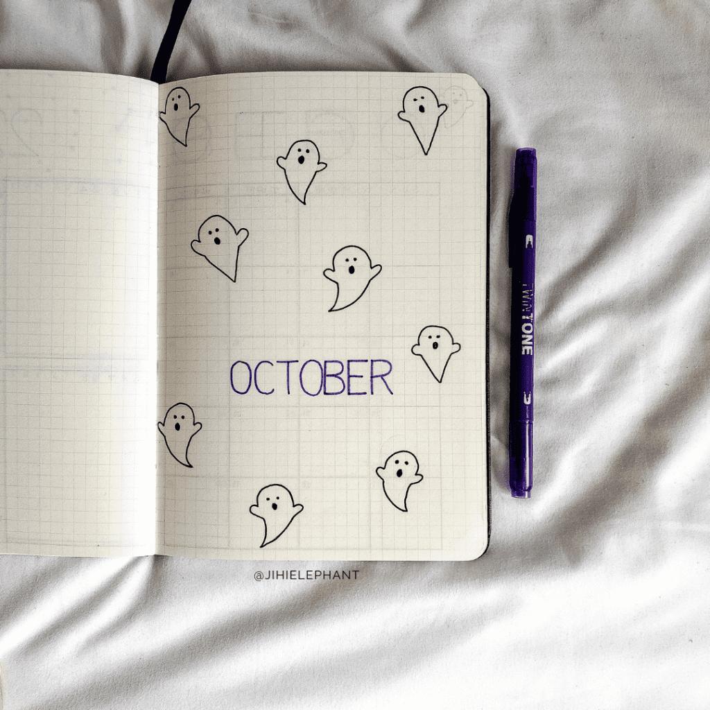 100+ Bullet Journal Theme Ideas by Month | ElizabethJournals