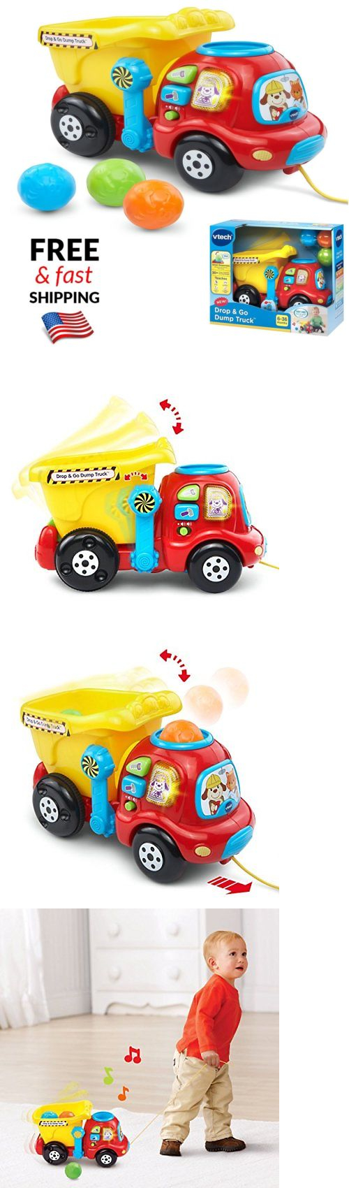Toys car for baby  baby and kid stuff Toddler Truck Toy Learning Game Play Educational