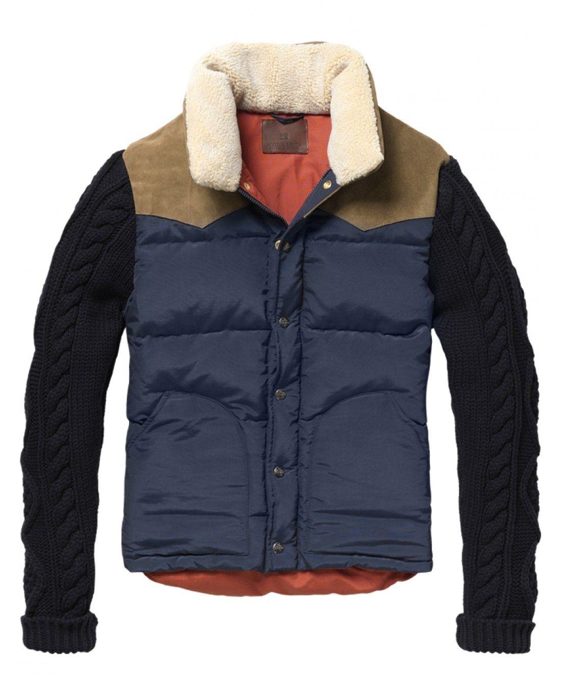 Knitted sleeved body warmer - Inbetweens - Scotch & Soda Online Shop