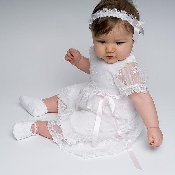 f696a3f22 Newborn Girl Christening Romper Dress - Melissa Christening/Baptism  Collection - Fancy Gowns & Dress