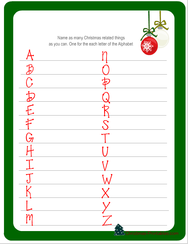 Free Printable Christmas Games  WOWcom  Image Results