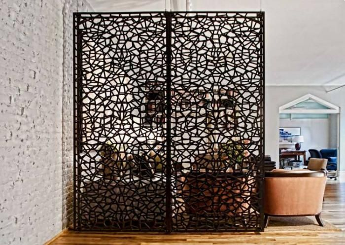 la s paration de pi ce en 83 photos inspiratrices s parations de pi ces s paration et cloisons. Black Bedroom Furniture Sets. Home Design Ideas