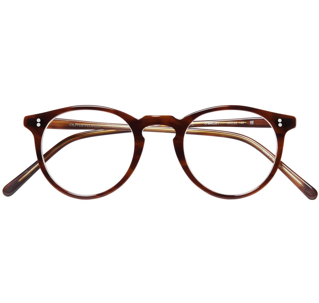 665fa81cdc96 Oliver Peoples O Malley Brown Tortoise Cream