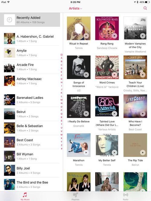 Loving The New Music App in iOS 8 4 for iPad | iPad Insight | I
