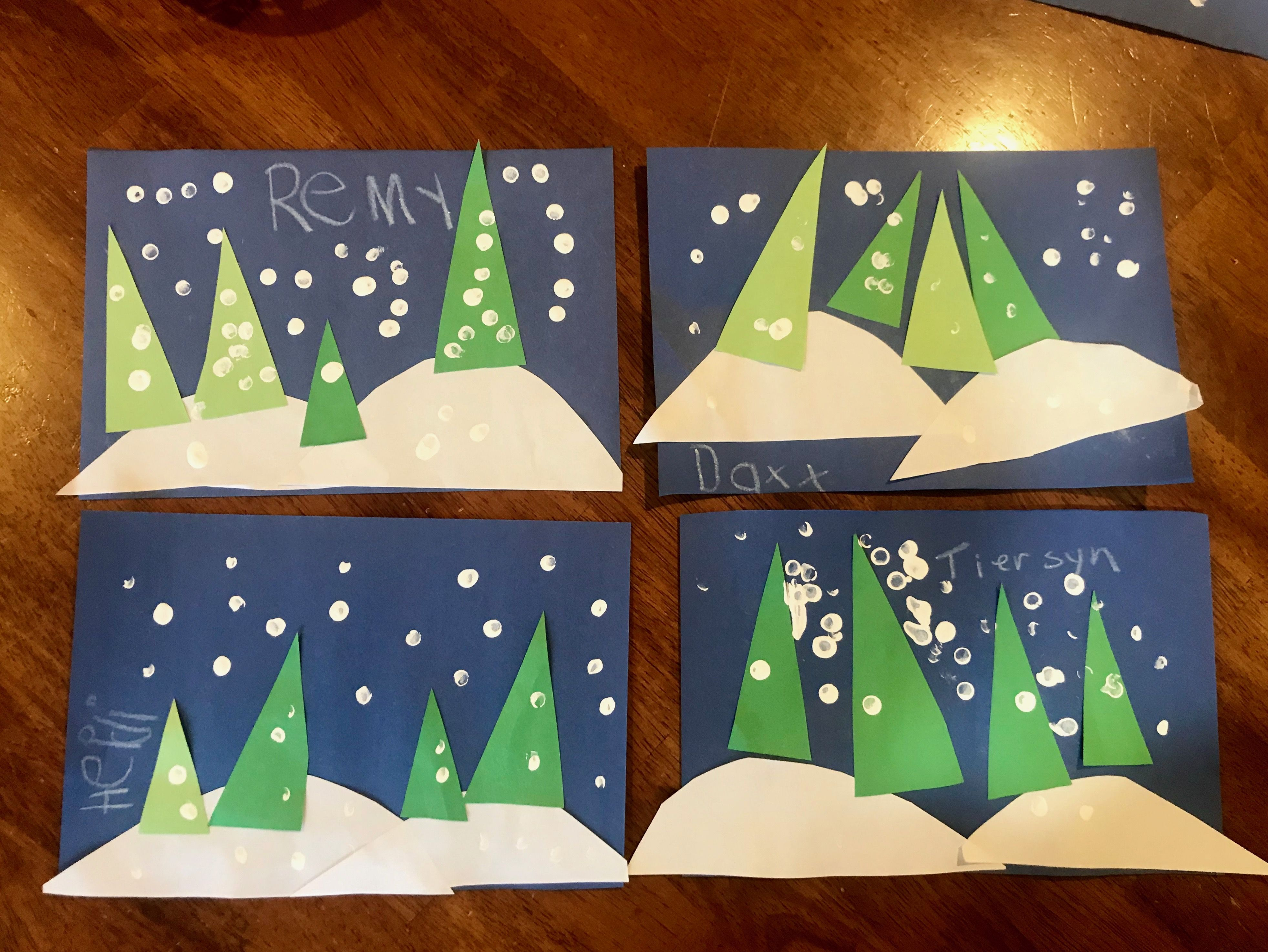 Christmas Craft Toddler Christmas Tree Craft Preschool Winter Craft Winter Tree Crafts Christmas Crafts Christmas Tree Crafts