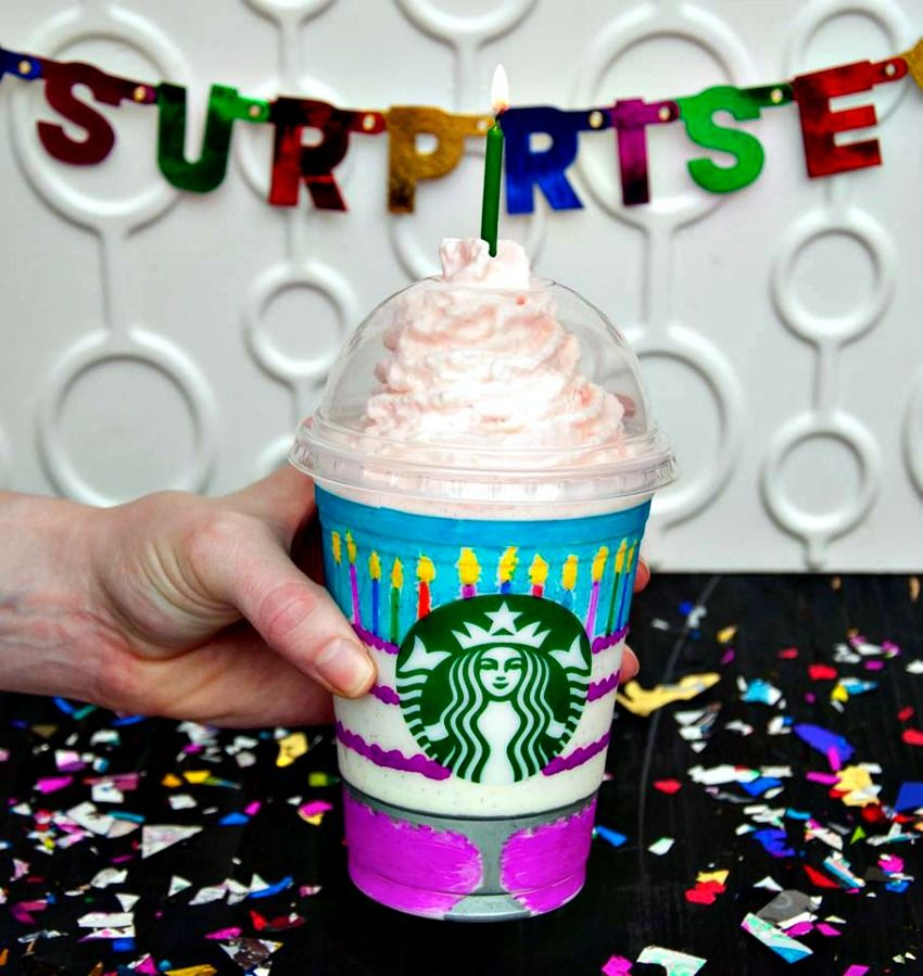 Starbucks Celebrates 20th Birthday of Frappuccino with New