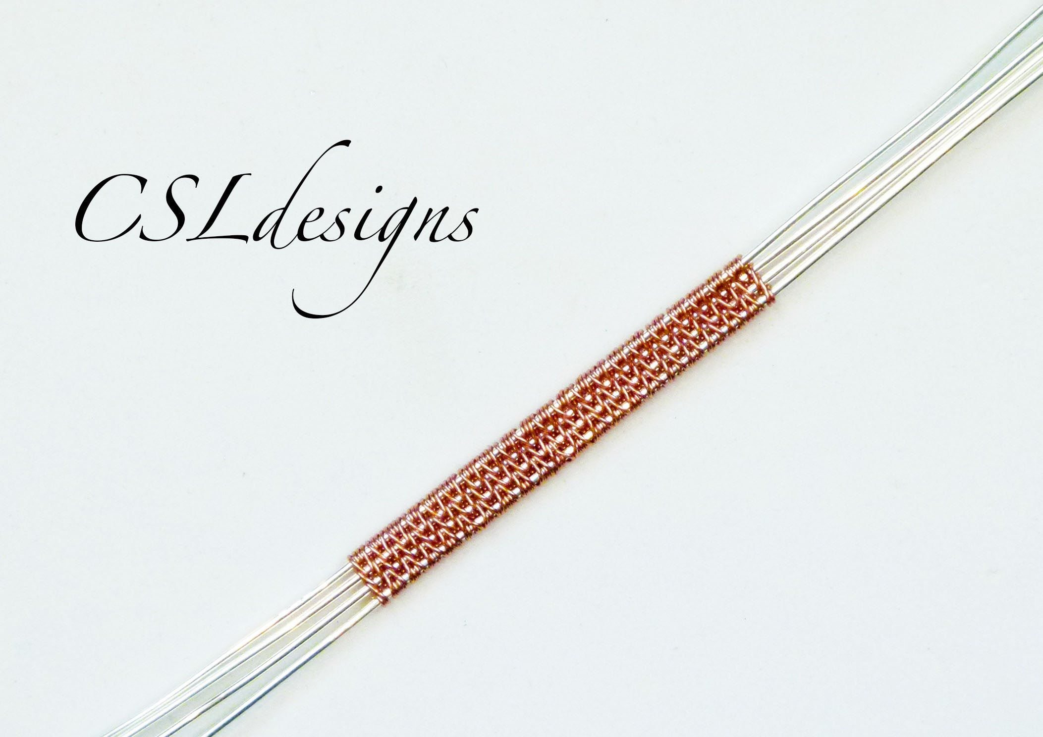 In this tutorial I show you how to make the herringbone wire weave ...