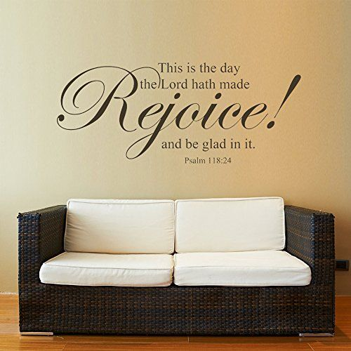 Bible Verse Wall Sticker Quotes Scripture Lord Vinyl Wall Decal Mural  Wallpaper For Home This Is