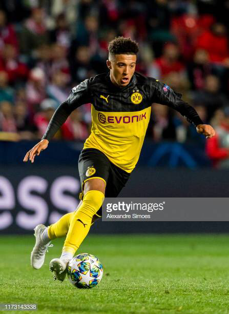 Sancho Vs Slavia Praha Pictures And Photos Getty Images In 2020 Football Players Images Sancho Borussia Dortmund