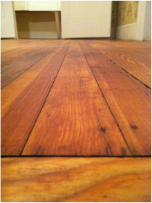 100 Year Old Heart Pine Floors Our Old House Heart
