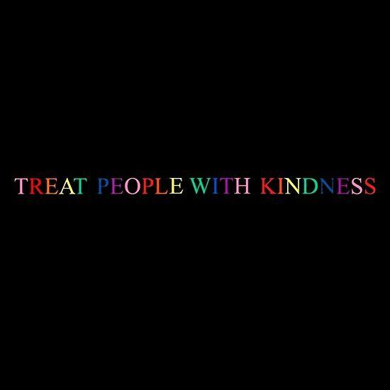 Tpwk Arco Iris Por Ammies Arte Shop In 2020 Harry Styles Quotes Twitter Header Photos Treat People With Kindness