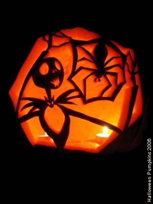 Nightmare Before Christmas pumpkin All Hallow\u0027s Eve Pinterest